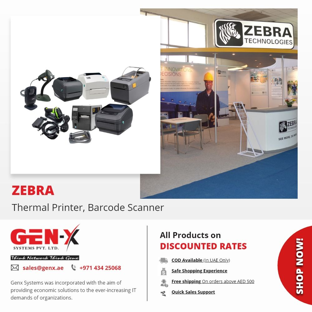 Zebra Printing Solution Zebra Printers Barcode Scanner Genx System Zebra Printer Zebra Printing Solution