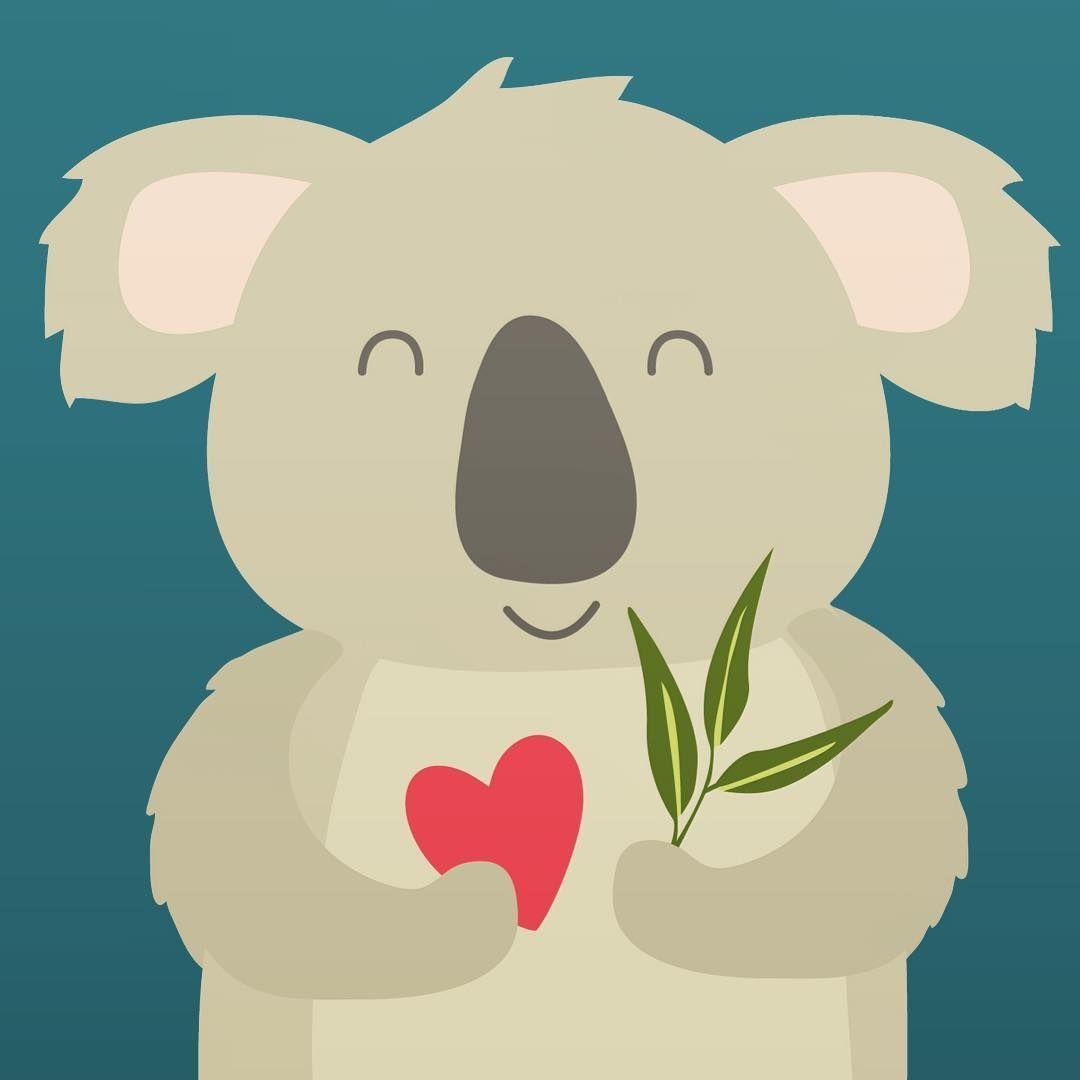 Pin By Elisa Lj Joost On Koalaty Time Koala Cute Animal Drawings Cartoon Animals
