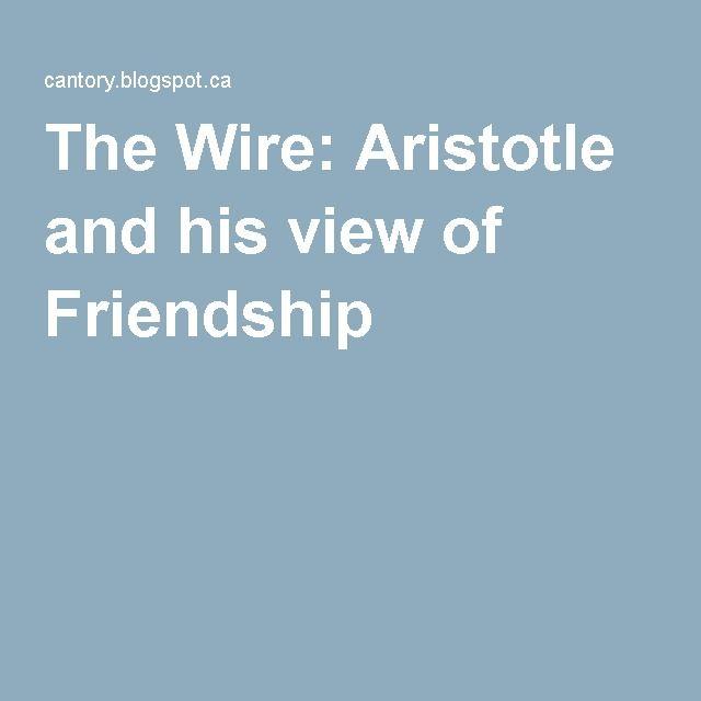 aristotle view on friendship
