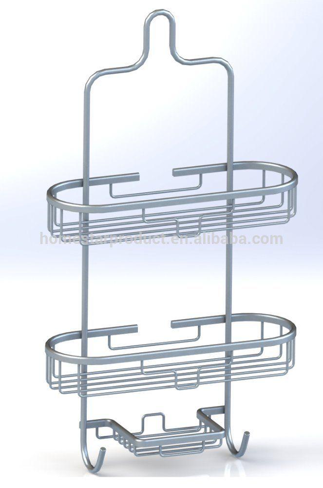 aluminium bathroom basket triple tier with hooks and soap dish three tier shower rack buy aluminium bathroom shower