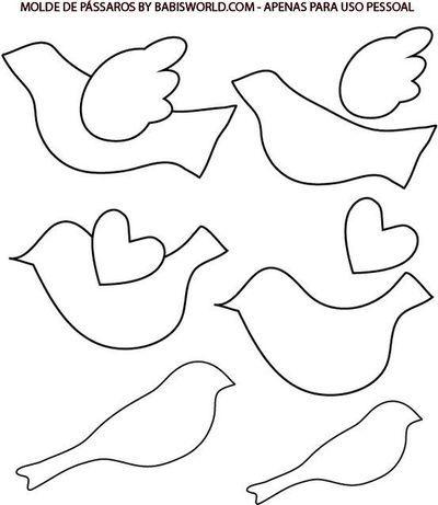 Cute Bird Template Printable Bird Template Printable Bird