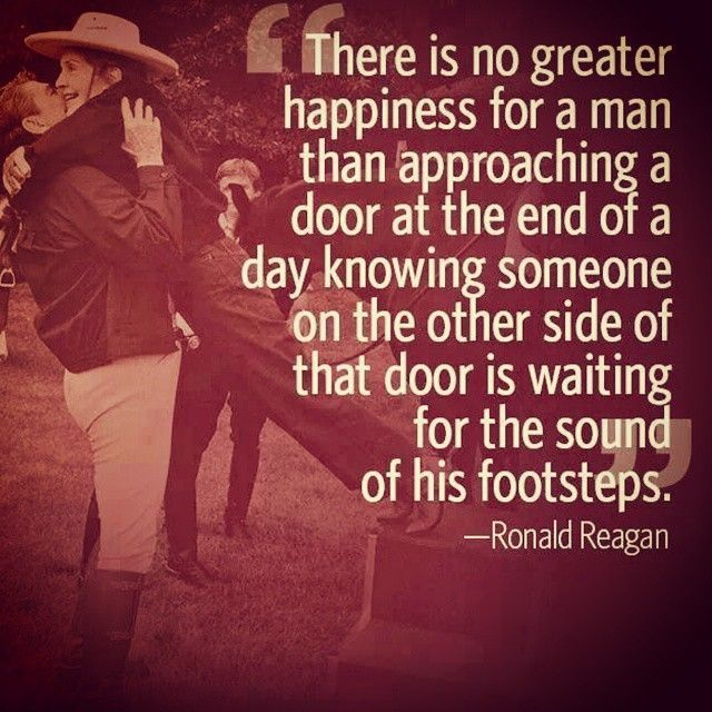 We All Get Excited When Papi Is Home People Pinterest Love Fascinating Ronald Reagan Love Quotes