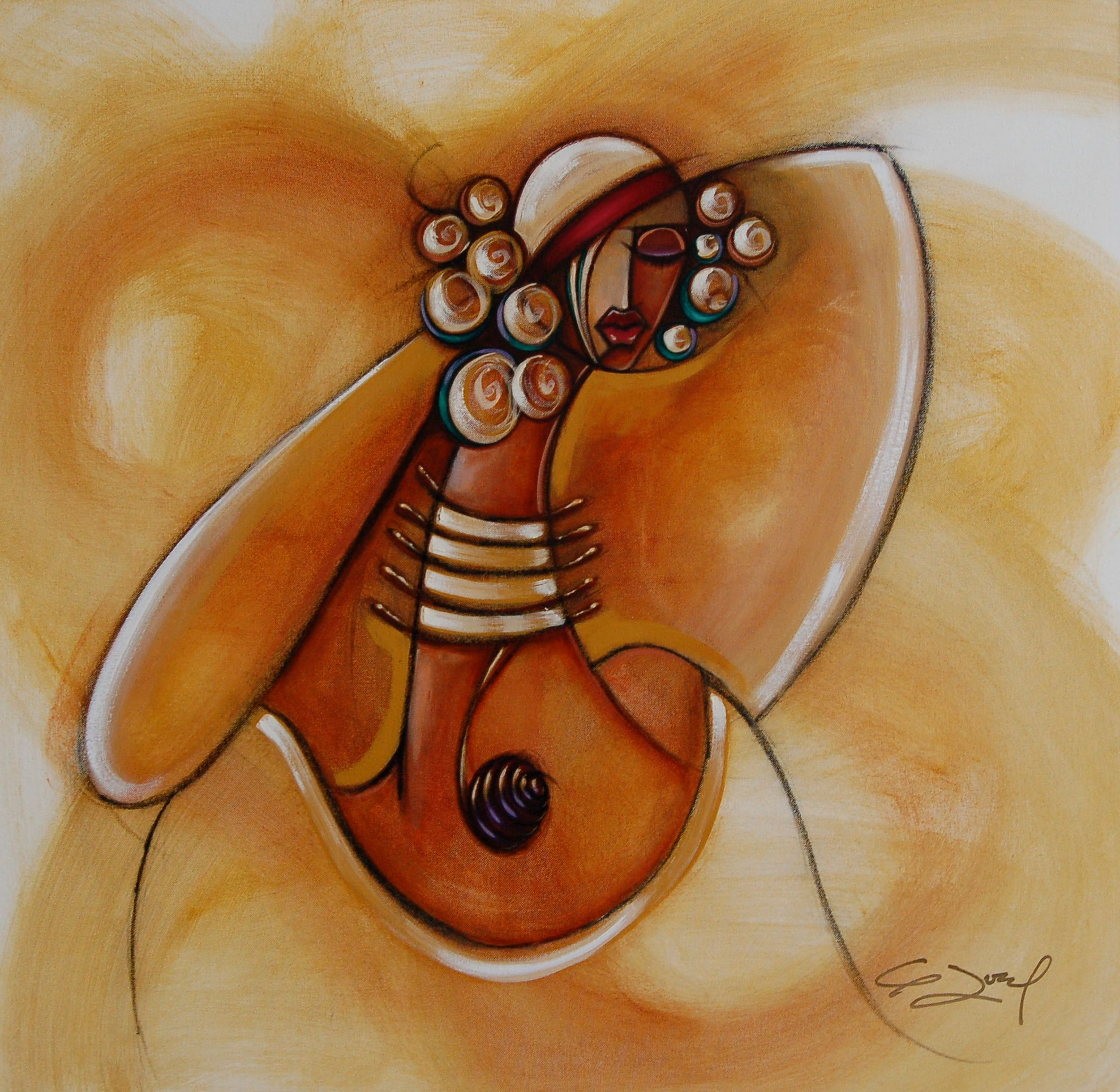 contemporary african american abstract artists