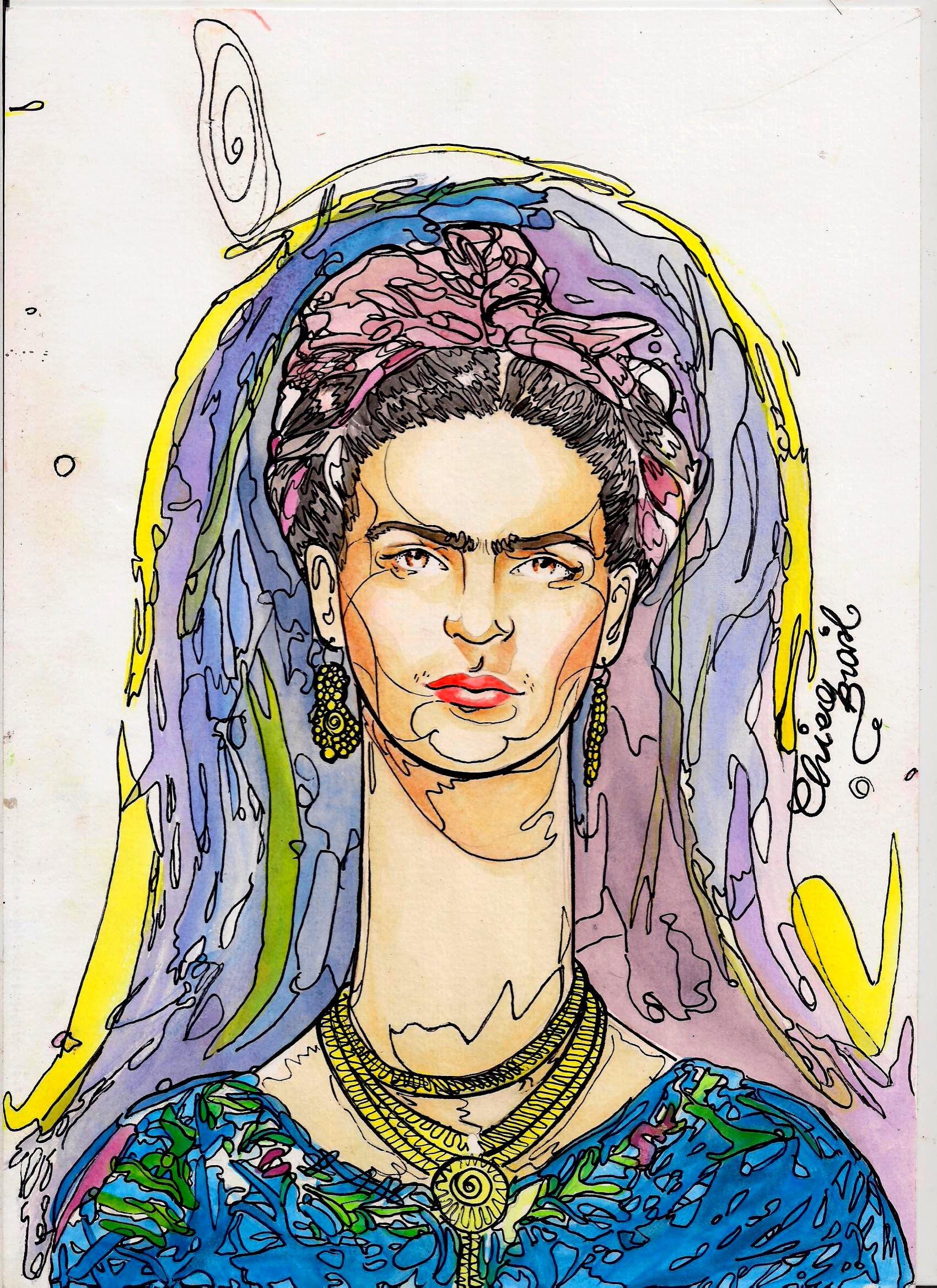 Frida Khalo- 2012. Chico Brasil