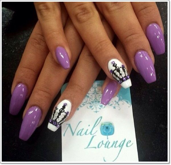 10 purple stiletto nail designs you must have dope nails sexy 10 purple stiletto nail designs you must have prinsesfo Gallery