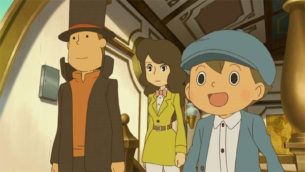 Professor Layton and the Azran Legacy screen shot
