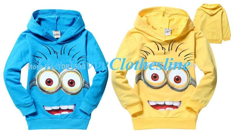 Fun and full of excitement!! Minion inspired hoodies for your lil' ones. Available in 2 colors, sizes 2t-10  Ordering ends Thursday, July 23rd and expected delivery is 45 days.  Place your order here: http://thesavvyclothesline.storenvy.com/products/13853883-kids-minion-inspired-hoodie-0715-8-03
