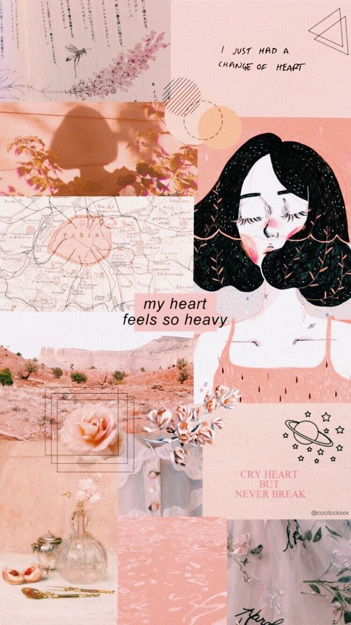 Aesthetic Collage Wallpaper Girly Aesthetic