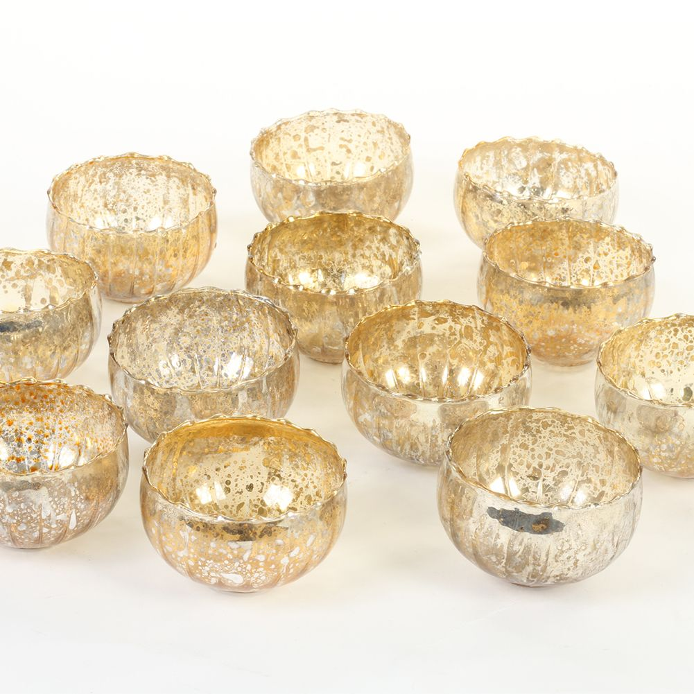 Koyal Wholesale Vintage Gold Floating Tealight Candle Holders 12 Pack Petite Glass Candle Holders For Tealight Candles Walmart Com In 2021 Tealight Candle Holders Tea Lights Tea Light Candles