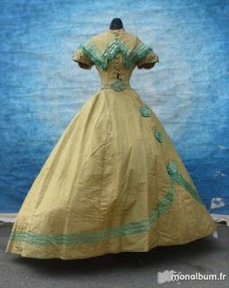 1860s Super Cute Bodice and Skirt