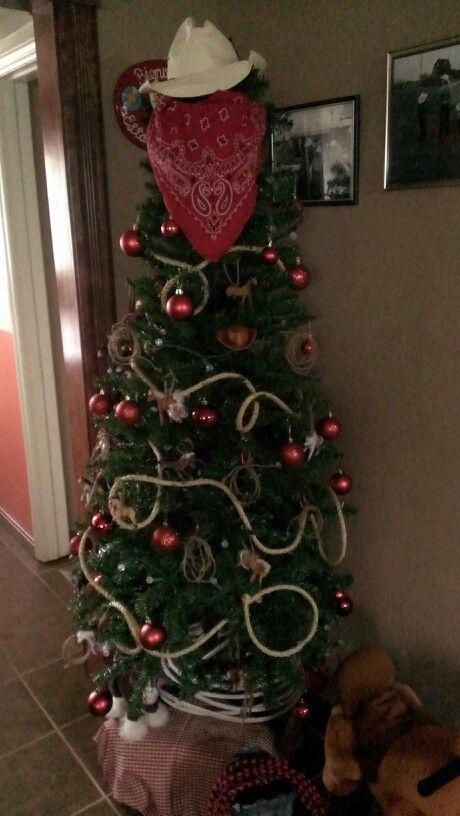 Western Christmas tree | Fiestas | Pinterest | Western christmas ...