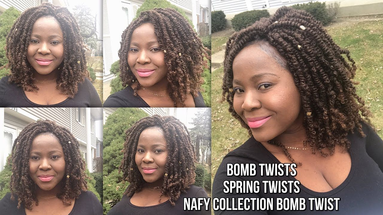 How To Do Bomb Twists Spring Twists Fluffy Twists Nafy Bomb