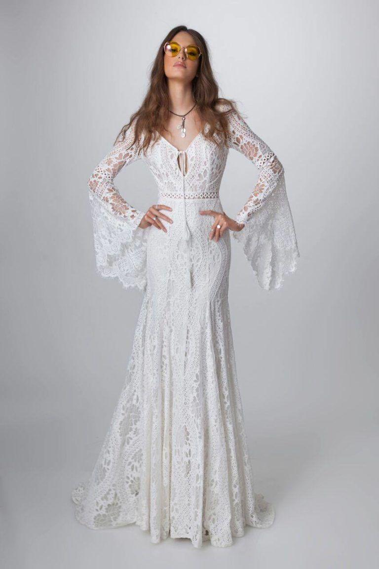 Alma - ELBBRAUT  Boho chic brautkleid, Schicke hochzeitskleider