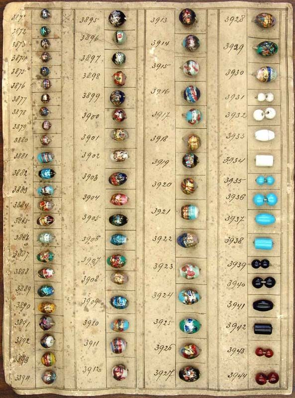Antique Reference Guide For Glass Beads Glass Beads Trade Beads African Trade Beads