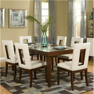Jarian Enzo Dining 7 Piece Table And Chair Set  Del Sol Furniture Adorable Cheap Dining Room Chairs Set Of 6 Design Ideas