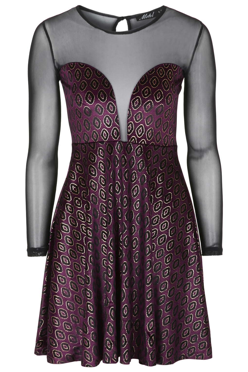 **Mooncoin Print Dress by Motel - Sale - Sale & Offers - Topshop