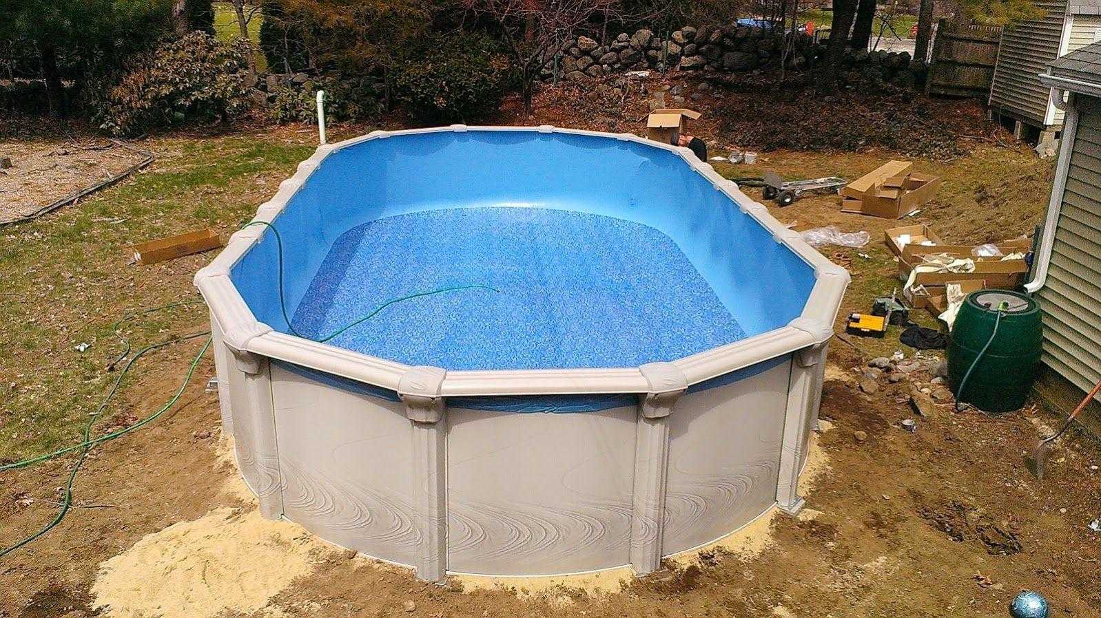 Sharkline Morada Pool Installation In Middleton Ma May 2014
