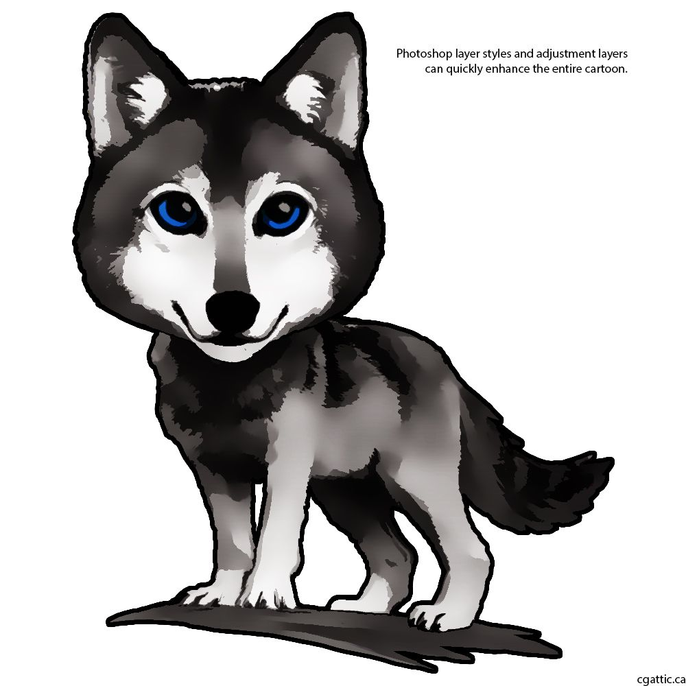 Uncategorized Cute Cartoon Wolf drawing a cartoon wolf tips for making cute and adorable little cartoon