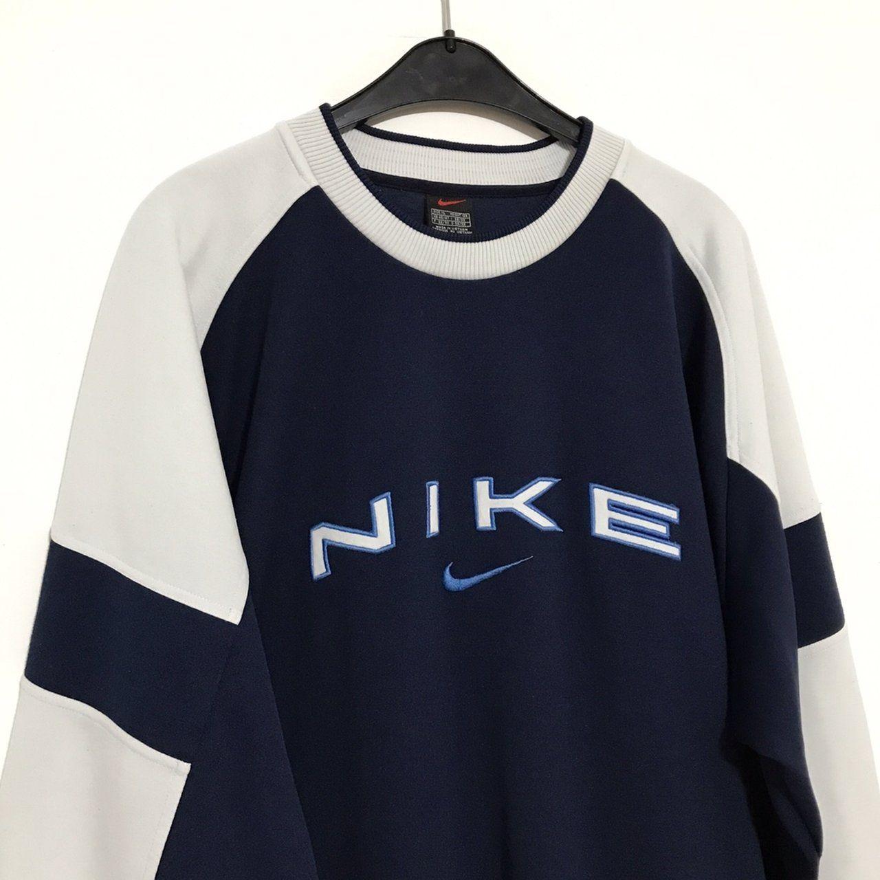 volumen Sorprendido mejilla  Vintage Nike sweatshirt Size XL / GB 45/47 Great condition - Depop | Vintage  nike sweatshirt, Vintage hoodies, Retro outfits