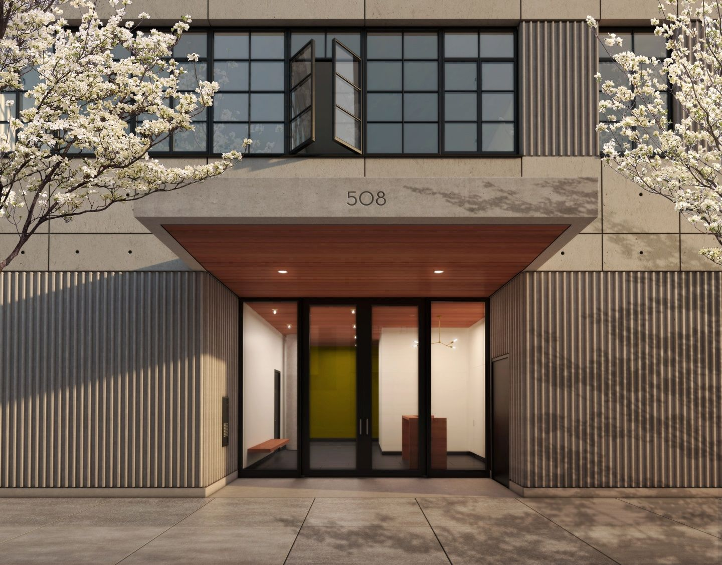 Apartment Building Entrance Design entry canopy | qiantan interiors | pinterest | canopy, condos and