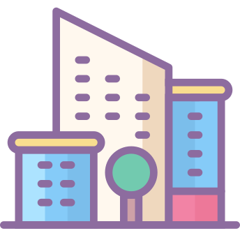 City Icons In Cute Color Style For Graphic Design And User Interfaces Apple Icon Iphone Icon Phone Apps Iphone