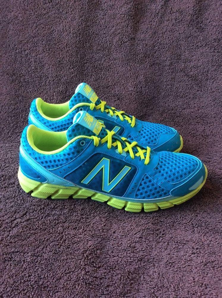 Running shoes, Neon yellow, New balance