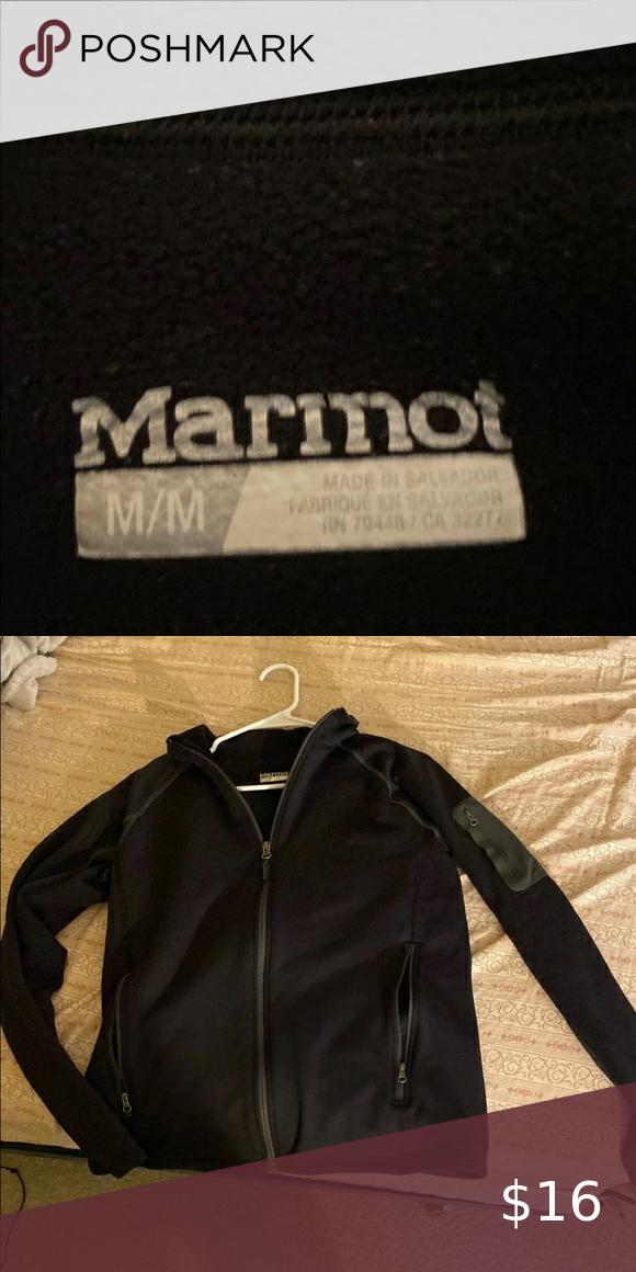 Black Marmot Jacket
