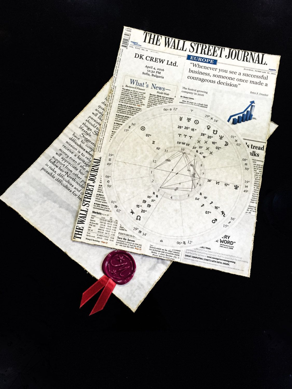 The company birth chart business horoscope business astrology the company birth chart business horoscope business astrology chart art gift astro nvjuhfo Gallery