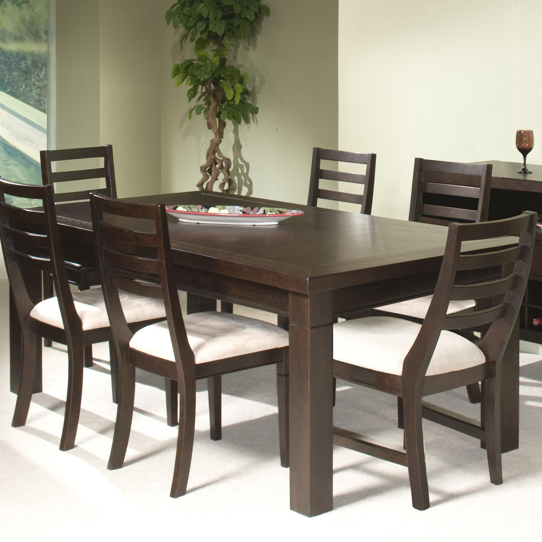 Urban Loft Seven Piece Dining Set By Intercon Hudson S Furniture