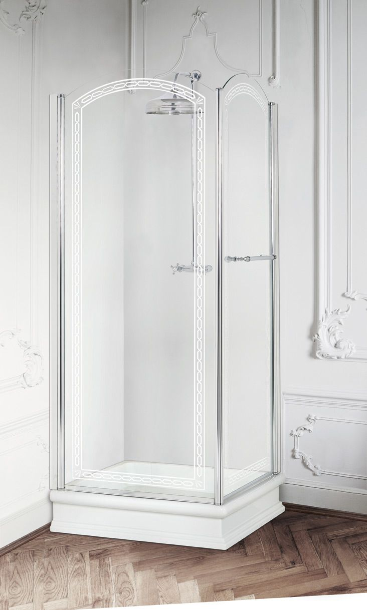 Aurora shower tray, Arcadia corner shower enclosure, Déco decoration ...