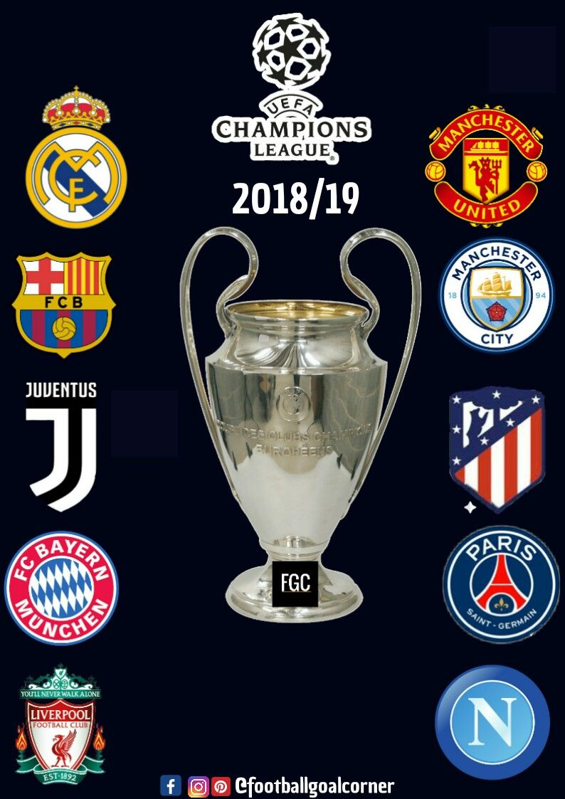 Guess Who Is The Next Winner Of Champions League 2018 19 Uefa Championsleague Realmadrid Juventus Atletic Champions League Uefa Champions League League