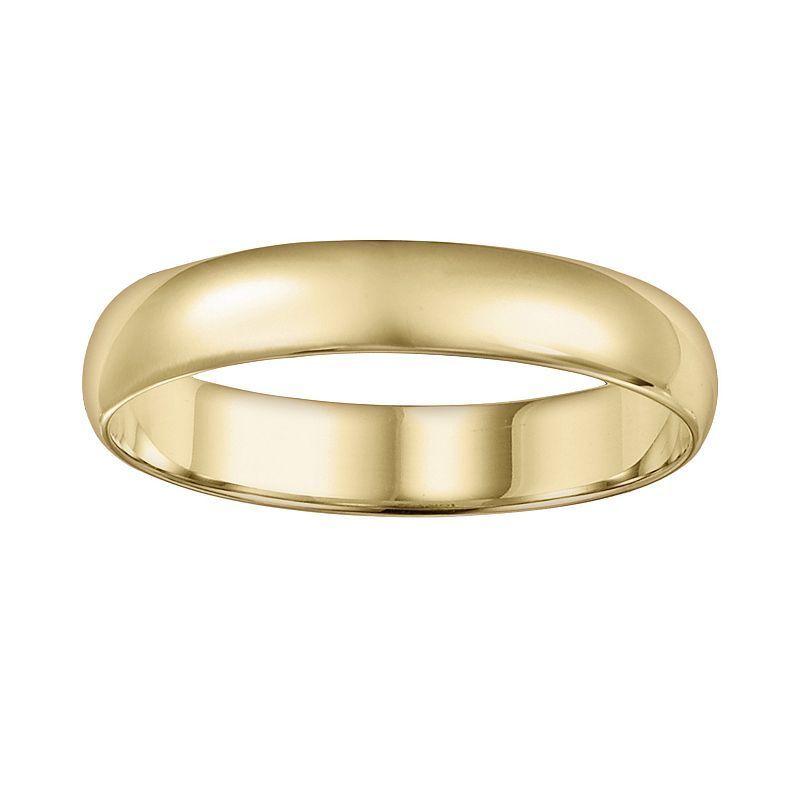 Cherish Always 10k Gold Wedding Band Men Size Mens Gold Wedding Band Mens Wedding Bands Gold Wedding Band