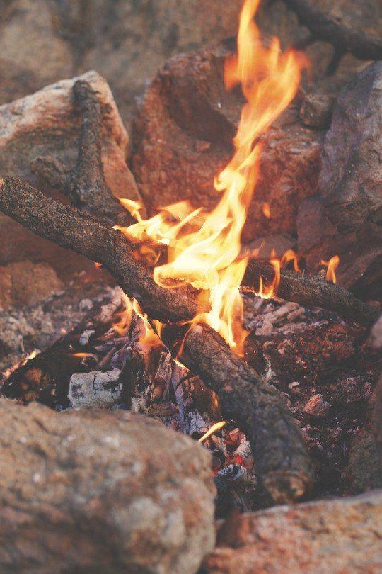 Как правильно фотографировать огонь челки