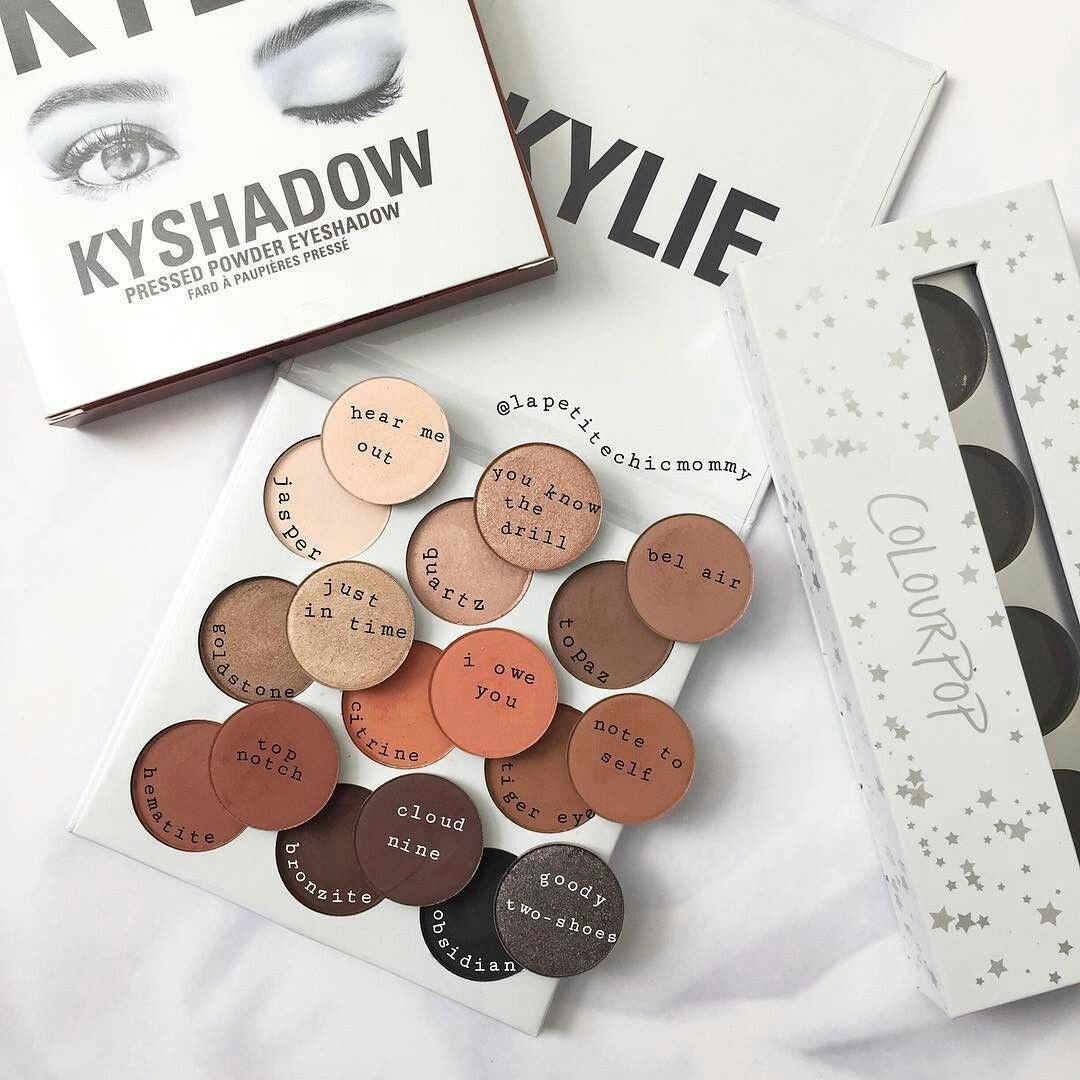Kylie bronze palette dupes from colourpop cosmetics