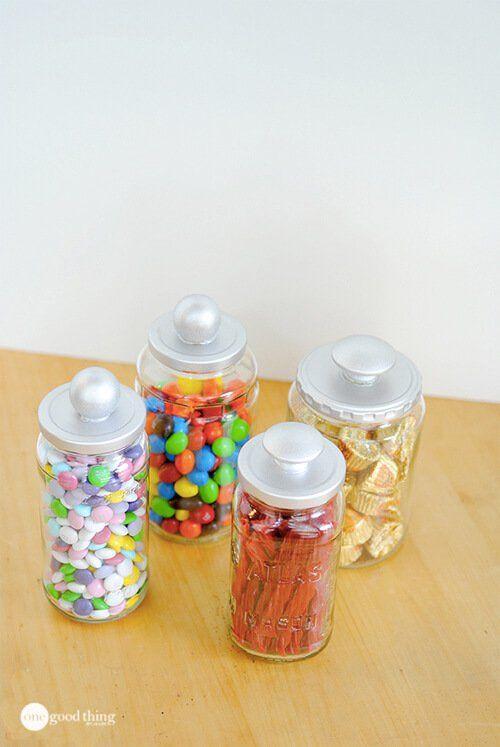 Repurposed Glass Jars 4 Diy Glass Glass Jars Jar Diy