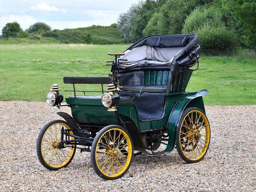 Henri Vallée Vis-à-Vis – 1897 | Distinguished Cars 1854-1917 ...