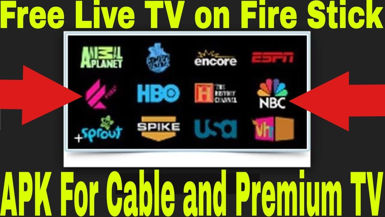 Watch Free Live Tv And Cable Channels On Fire Stick 1 App For Live Tv A Live Tv Cable Channels Hbo