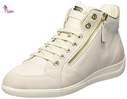 New Club A, Sneakers Hautes Femme, Blanc (Whitec1000), 40 EUGeox