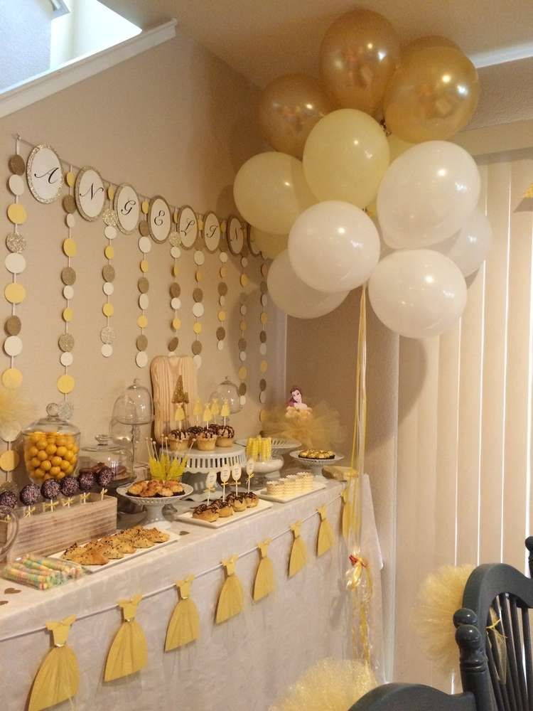 What A Gorgeous Beauty And The Beast Birthday Party See