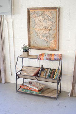 Kalalou Library Book Shelf