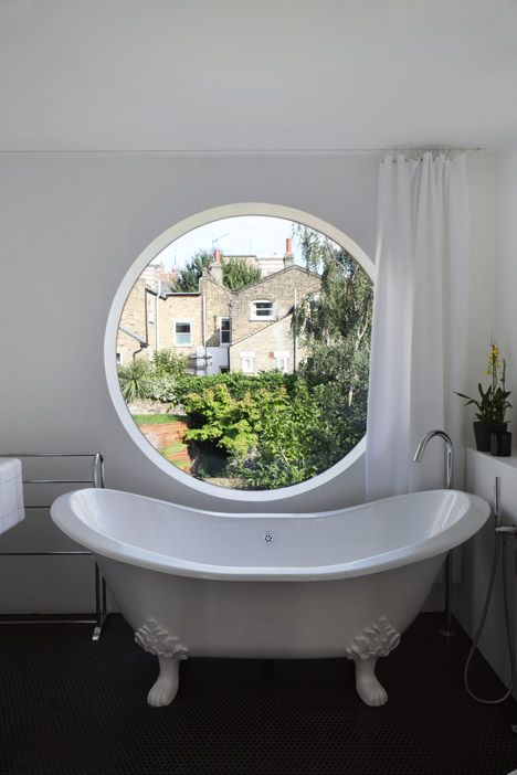Gentil Jimi House By Paul Archer Design Features Round Window Inspired By Abstract  Art.