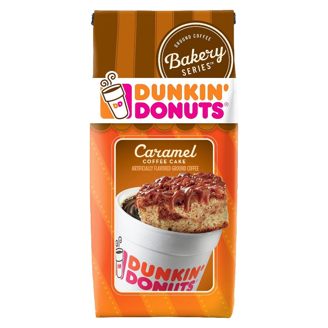 Dunkin' Donuts Caramel Cake Medium Roast Ground Coffee