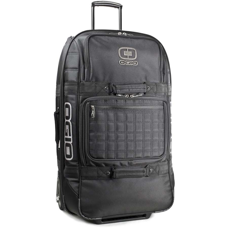 2012 Ogio Invader Wheeled Travel Bag - 30 - Stealth - - by Ogio - 2012 Ogio Invader Wheeled Travel Bag - 30 - Stealth Features