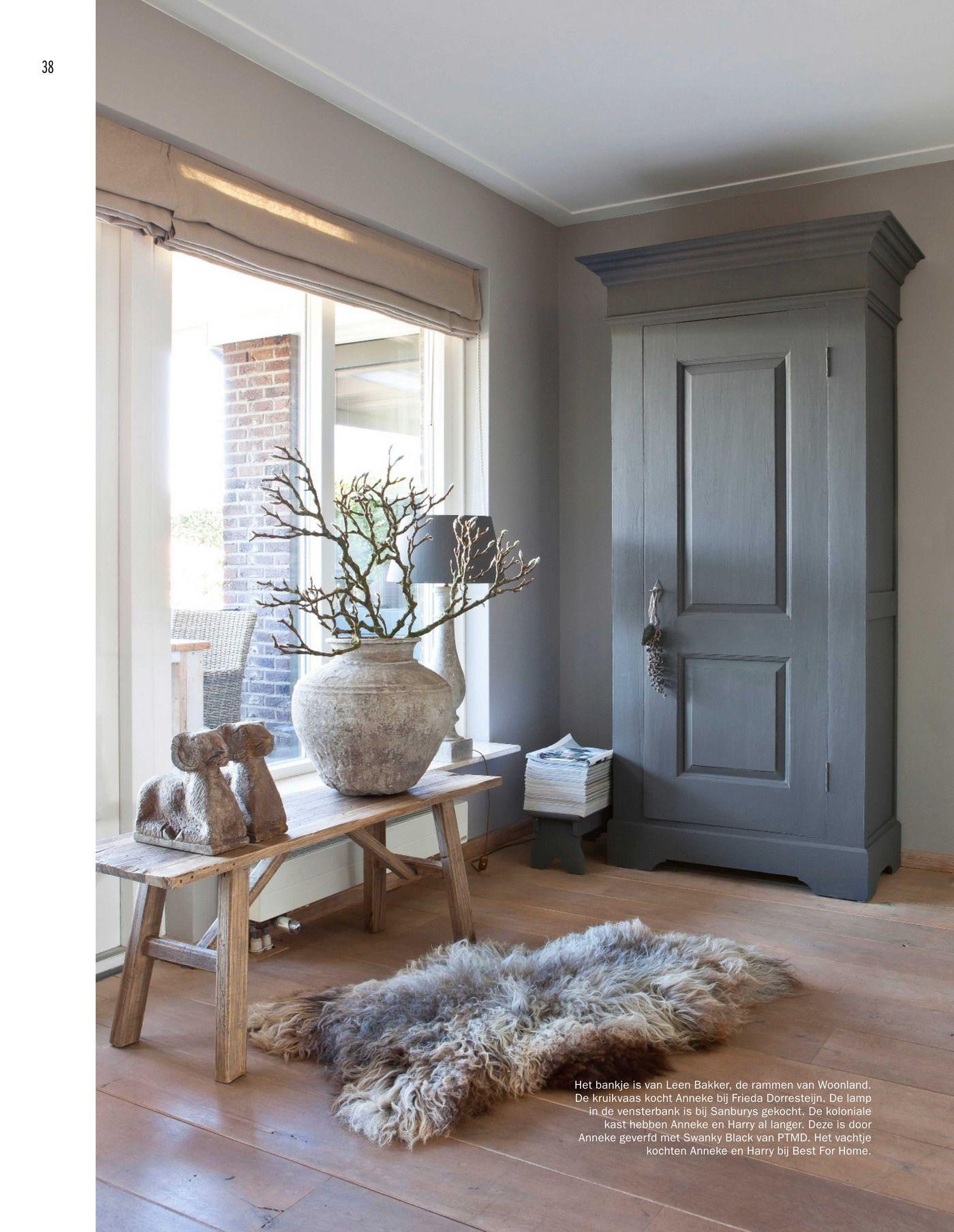 Wonen landelijke stijl vtwonen designbeurs huis for Huis interieur ideeen