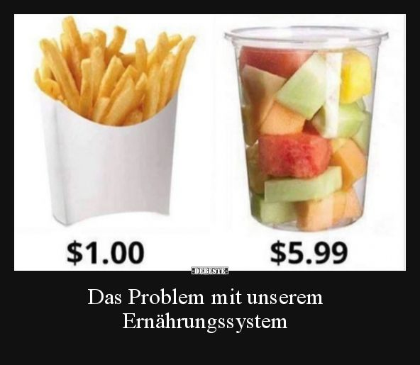 Photo of The problem with our food system ..