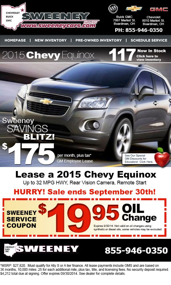 Chevy Equinox Ad September Design And Deployment By Actionable