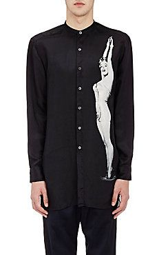 Marilyn-Print Clint Shirt
