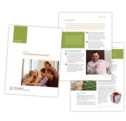 Communicating Employee Handbook Davis Company Graphic Design - Employee handbook design