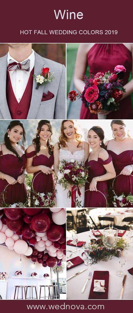 Wein Brautjungfer Kleid Brautstrauß Hochzeitsballons Hochzeit Tischdekoration Ideen #Hochzeit #Hochzeiten #Hochzeitsideen #Hochzeitsinspirationen -