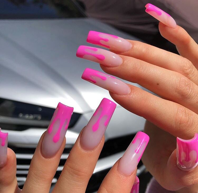 40 Coolest Nail Art Ideas For Spring And Summer Kylie Nails Cute Pink Nails Pink Nails